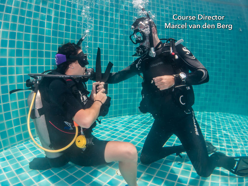 Weight Belt Removal and Replacement Underwater